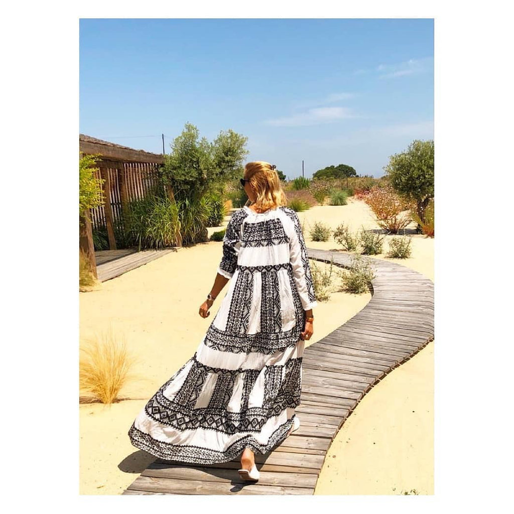AZTEC MAXI EFANDO DRESS by KORI