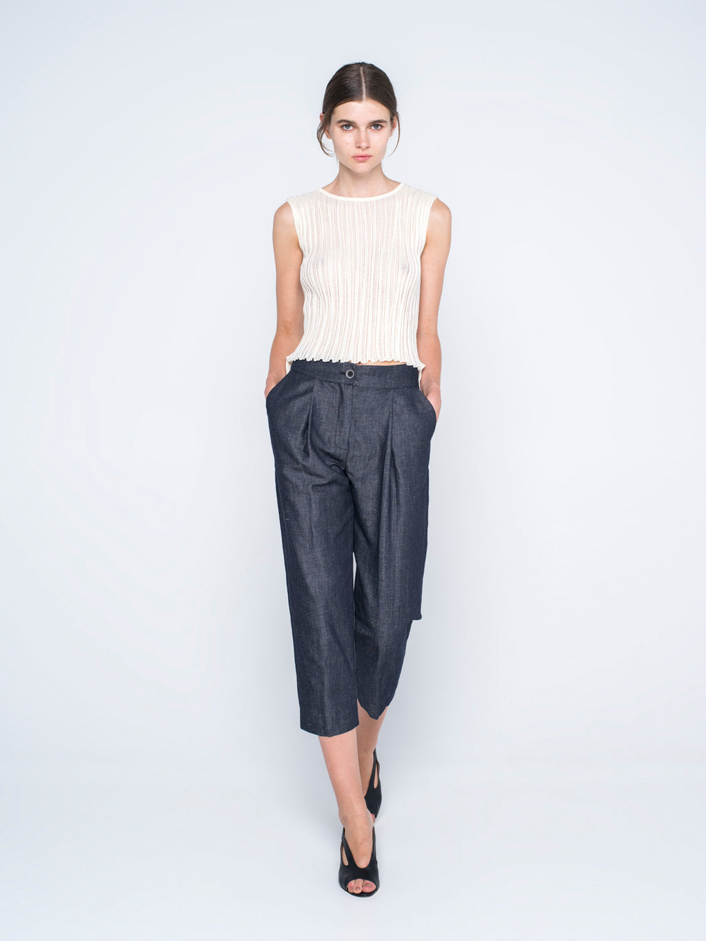 "PANTS""VEGETAL DENIM"" BY IOANNA KOURBELA"