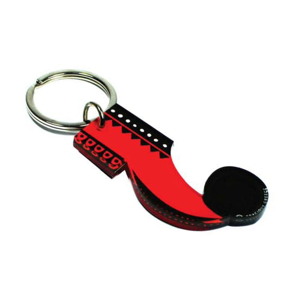 RED TSAROUCHI KEY CHAIN by GRACIOUS GREECE