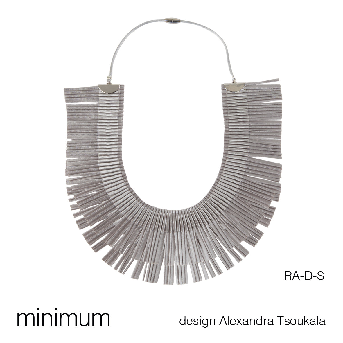 RA DOUBLE CHOKER/NECKLACE by ALEXANDRA TSOUKALA