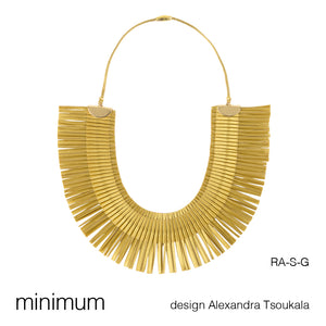 RA CHOKER/NECKLACE by ALEXANDRA TSOUKALA