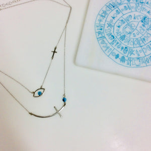 CROSS MATI NECKLACE
