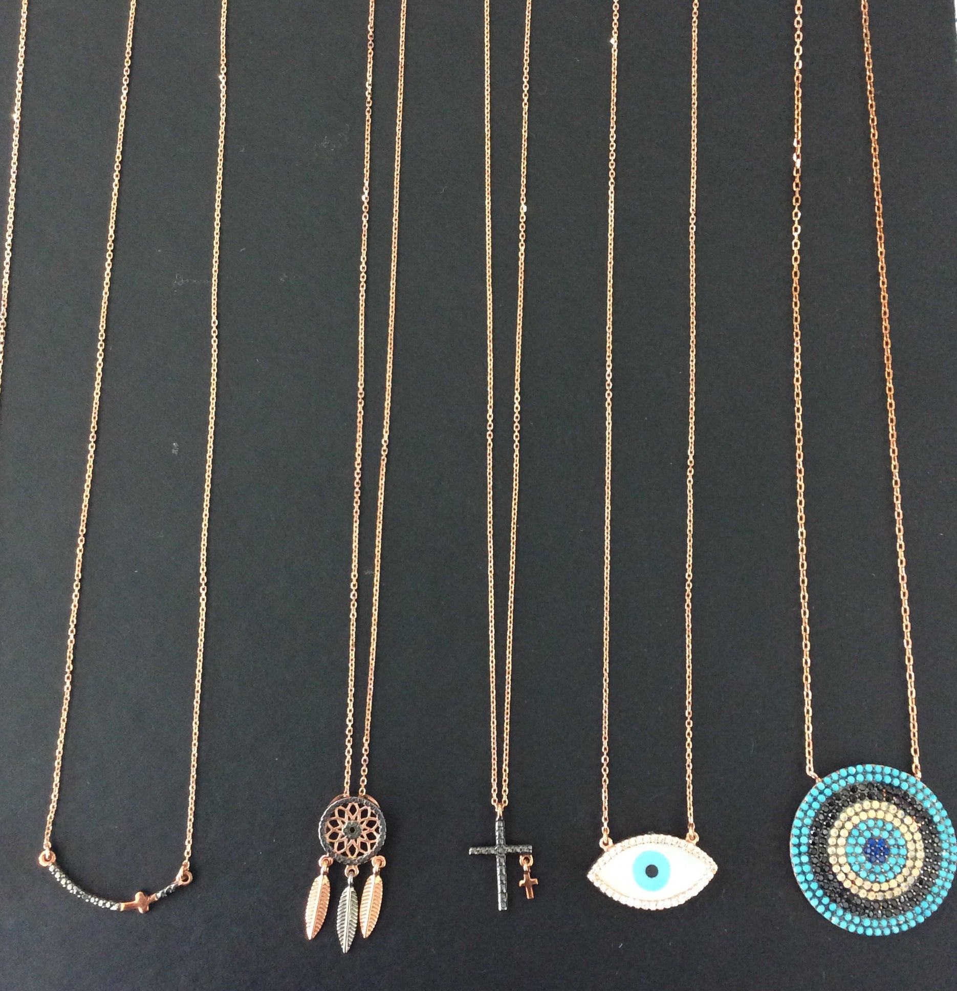 NATIVE DREAM CATCHER NECKLACE