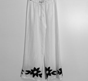 FLOWER POWER EMBROIDERED PANT by KORI