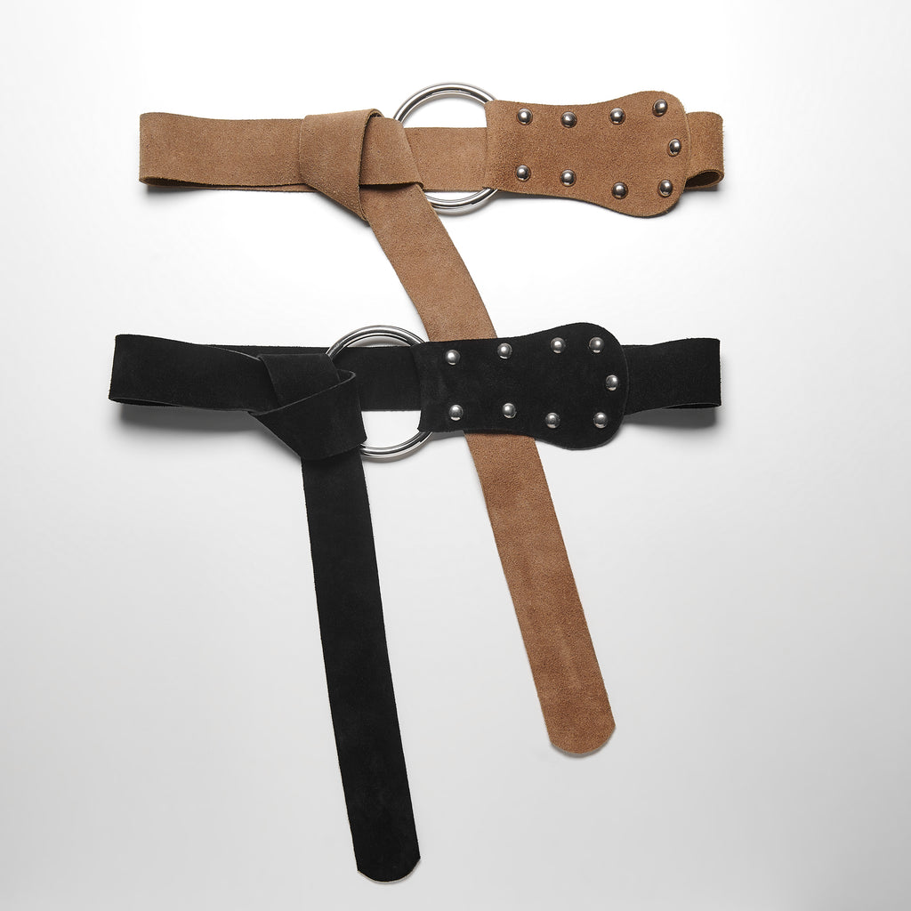 BREATHLESS LEATHER BELT