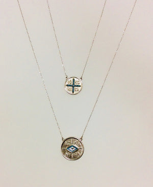 IN/CA CROSS NECKLACE