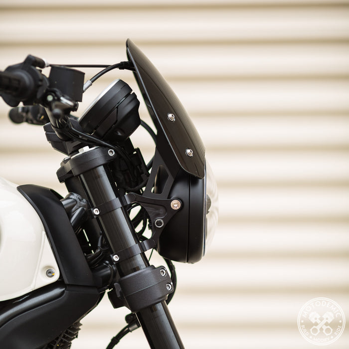 Motodemic Fly Screen For Adaptive Headlight for Ducati Scrambler