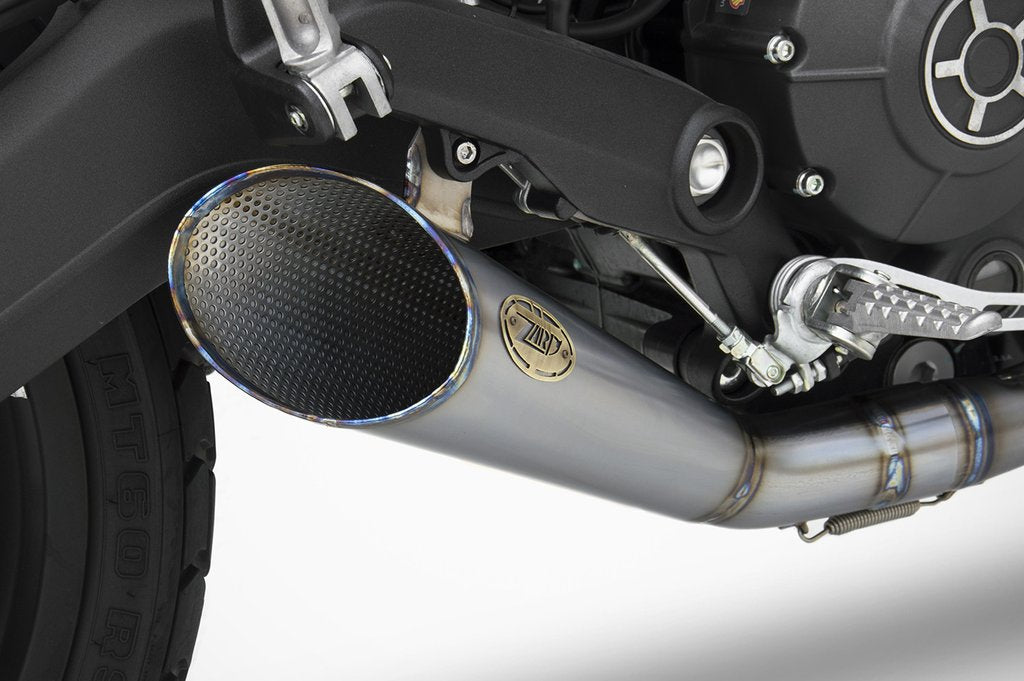 ZARD Slash Cut Full Exhaust for Ducati Scrambler