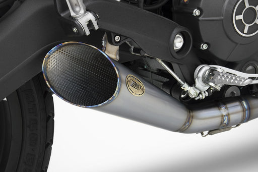 ZARD Slash Cut Full Exhaust for Scrambler 62 for Ducati Scrambler