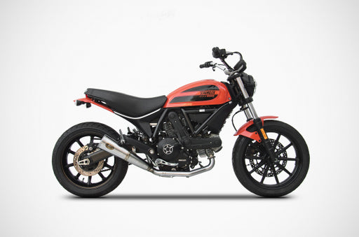 Zard Silencer Exhaust for Ducati Scrambler Sixty2 (62) for Ducati Scrambler