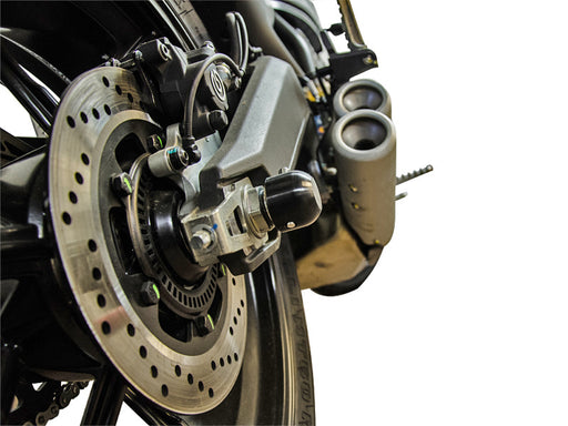 Woodcraft Front and Rear Axle Slider Kits for Ducati Scrambler