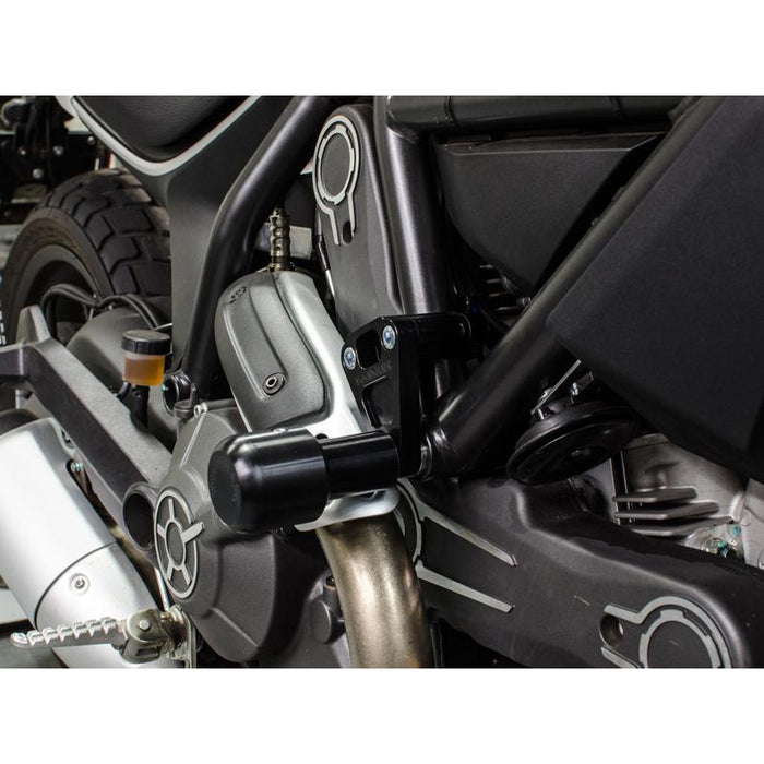 Woodcraft Premium Frame Sliders for Ducati Scrambler