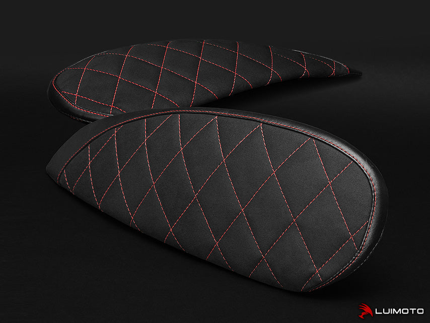 Luimoto Diamond Tank Side Panel Covers for Ducati Scrambler