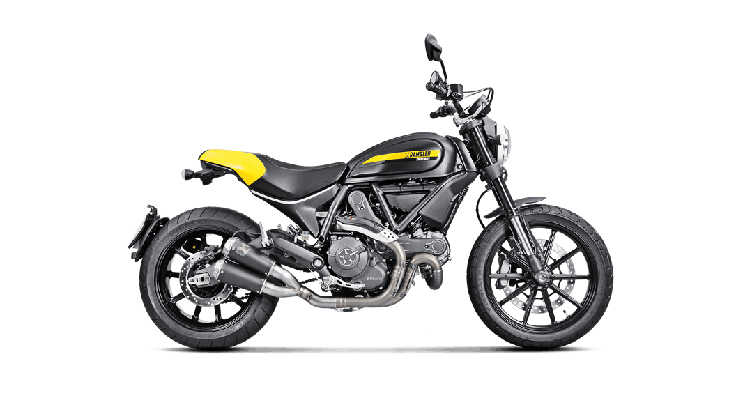 Akrapovic Titanium Slip-On for Ducati Scrambler