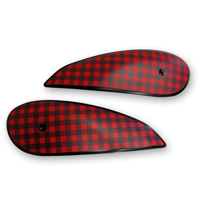 Scrambler Ducati Checkered Tank Panels for Ducati Scrambler