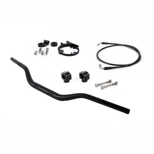 Corsa Moto Handelbar Conversion Kit - Includes Riser and Gauge Relocator for Ducati Scrambler