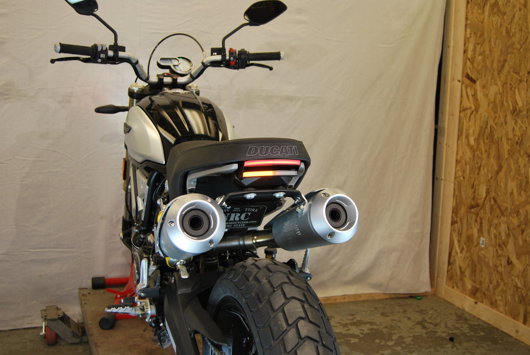 New Rage Cycles Fender Eliminator Kit for Scrambler 1100 for Ducati Scrambler