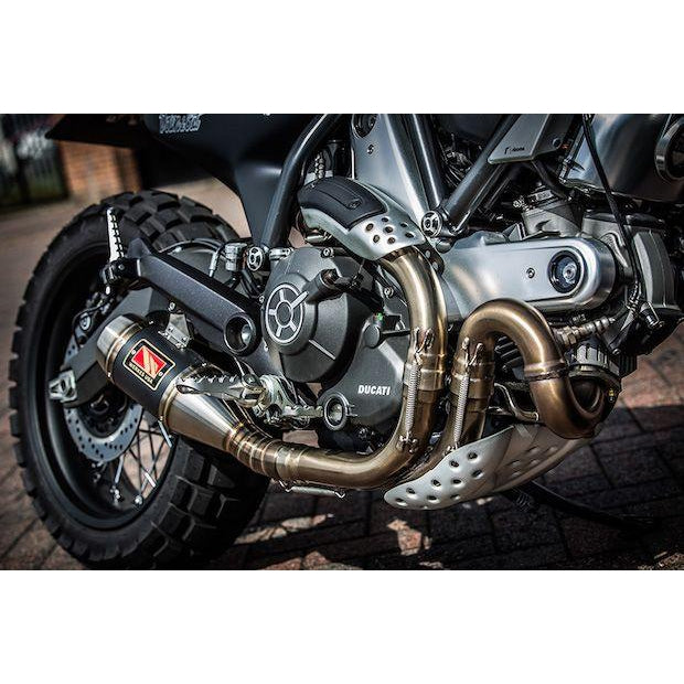 Competition Werkes Slip-on Exhaust for Ducati Scrambler