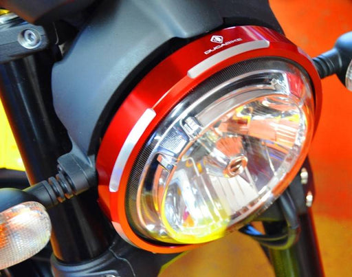 Ducabike Billet Headlight Ring for Ducati Scrambler