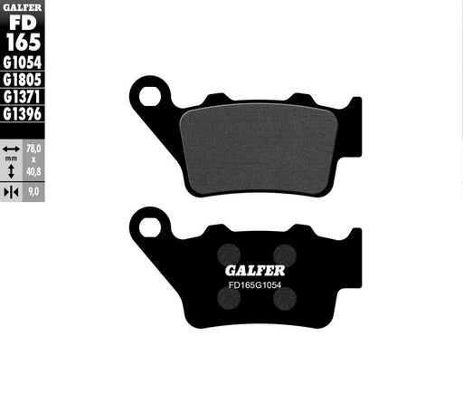 GalferUSA Rear Brake Pads (Semi-Metallic Compound) for Ducati Scrambler