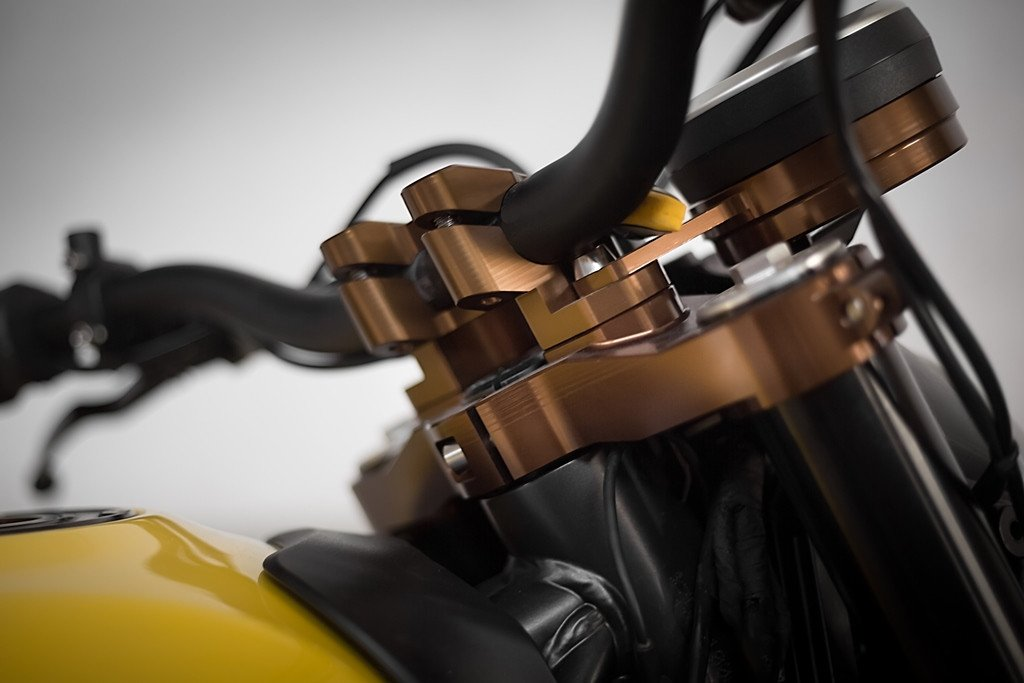 AEM Factory Triple Clamps for Ducati Scrambler