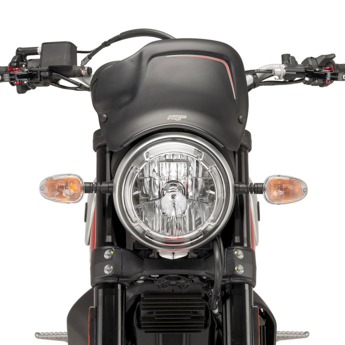 Pyramid Plastics Headlight Plate for Ducati Scrambler