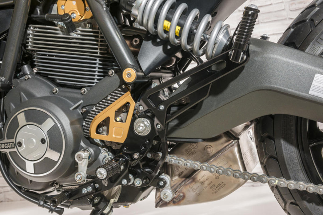 CNC Racing Adjustable Rear Sets for Ducati Scrambler