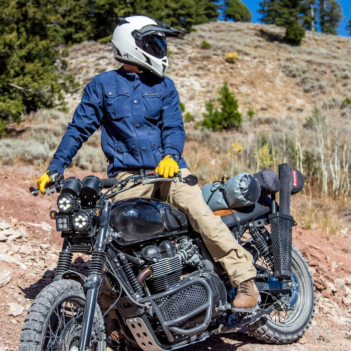 Klim Fully Armored Revener Jacket for Ducati Scrambler