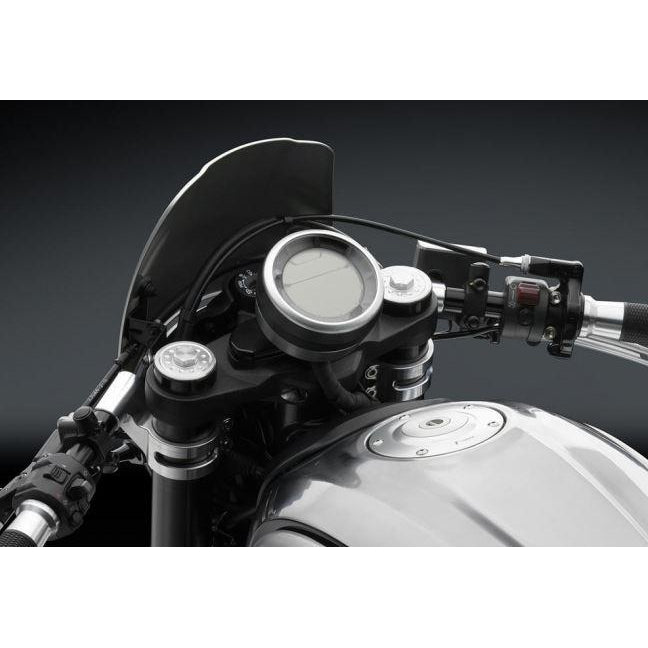 Rizoma Gauge Relocator Bracket for Clip-Ons for Ducati Scrambler