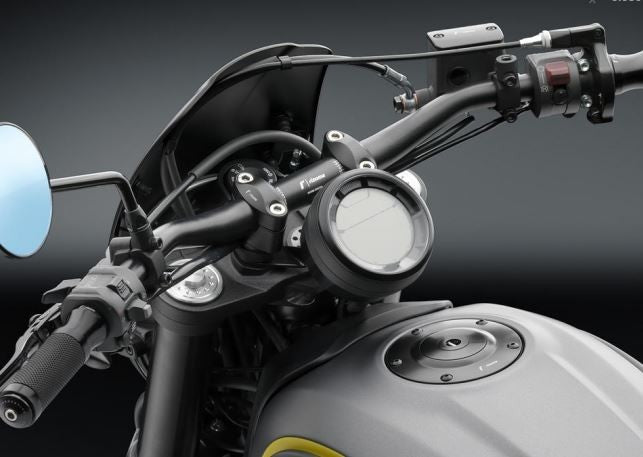 Rizoma Riser Kit with Gauge Bracket for Ducati Scrambler