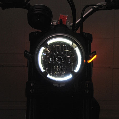 New Rage Cycles Front Turn Signals for Cafe Racer/Sixty2/Desert Sled/800 Series for Ducati Scrambler