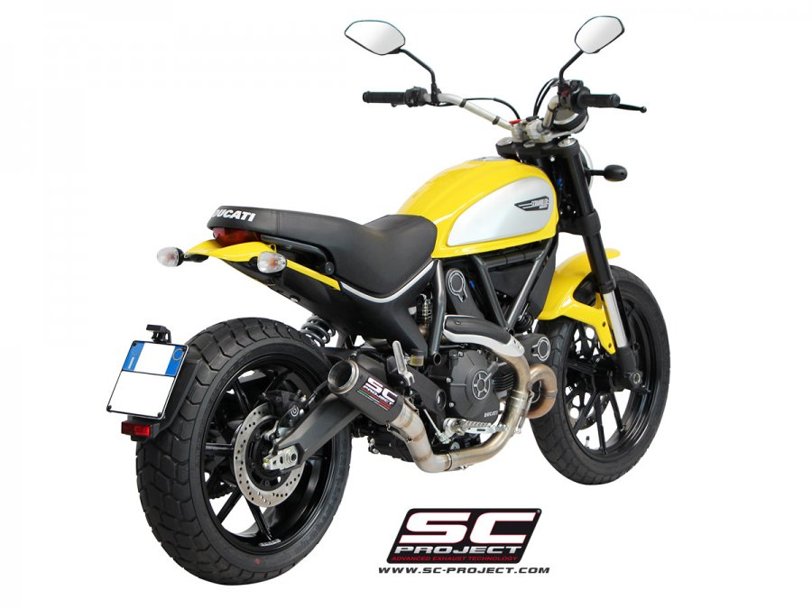 SC Project CR-T Exhaust for Ducati Scrambler