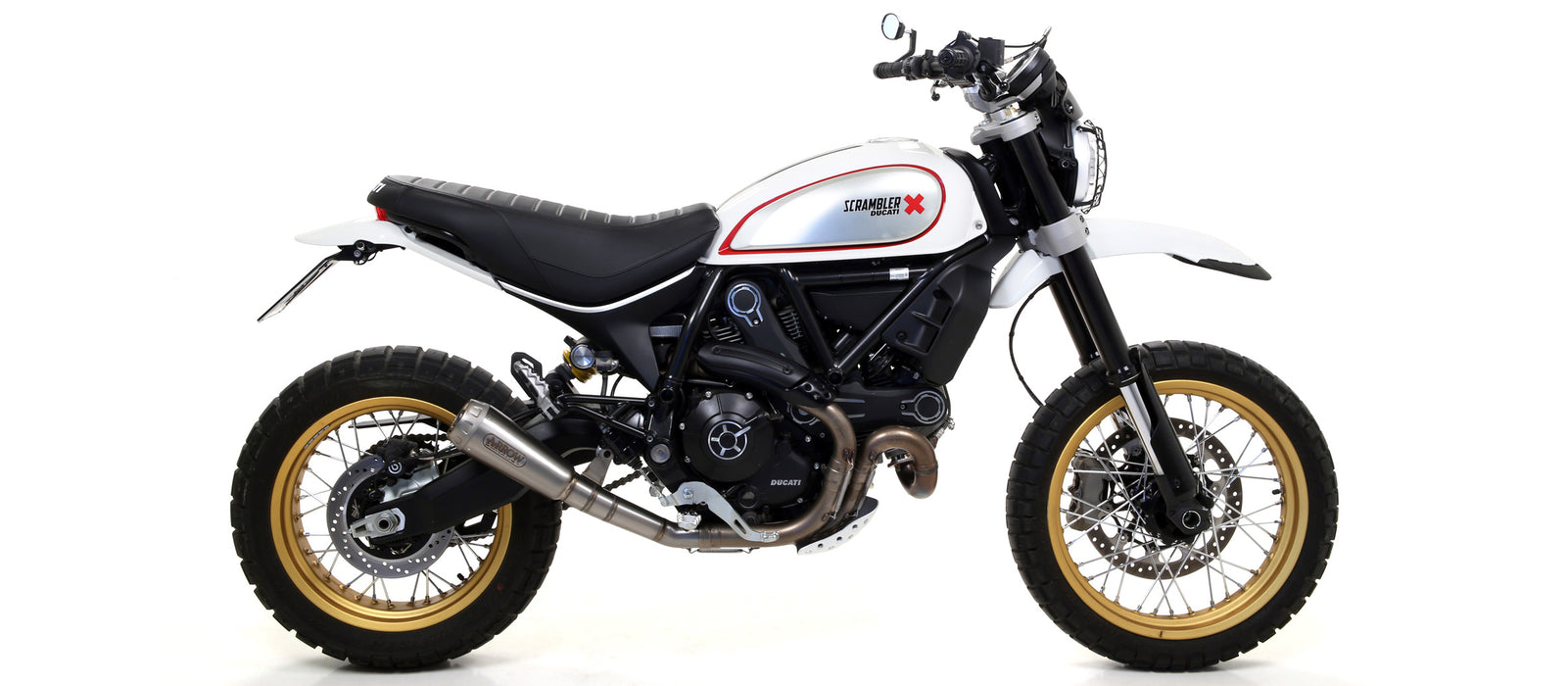 Arrow Pro-Race Titanium Exhaust for Ducati Scrambler