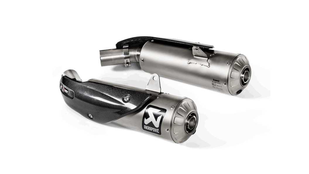 Akrapovic Scrambler 1100 Exhaust for Ducati Scrambler