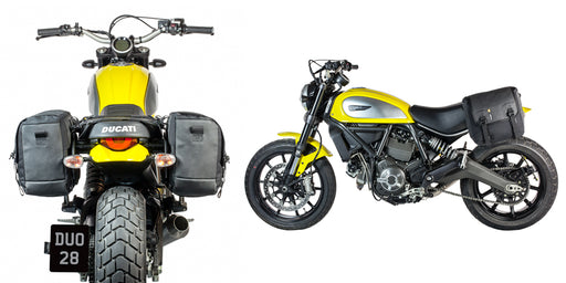 Kriega Saddle Bags for Ducati Scrambler