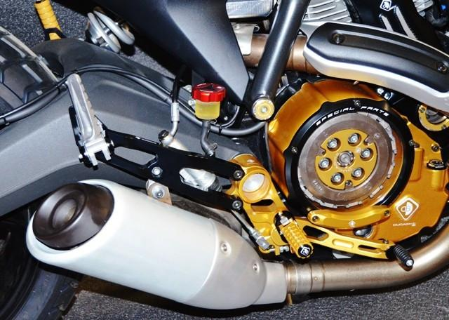 Ducabike Rear Set - Passenger Bracket for Ducati Scrambler