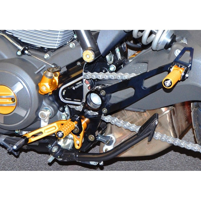 Ducabike Complete Rear Set for Ducati Scrambler
