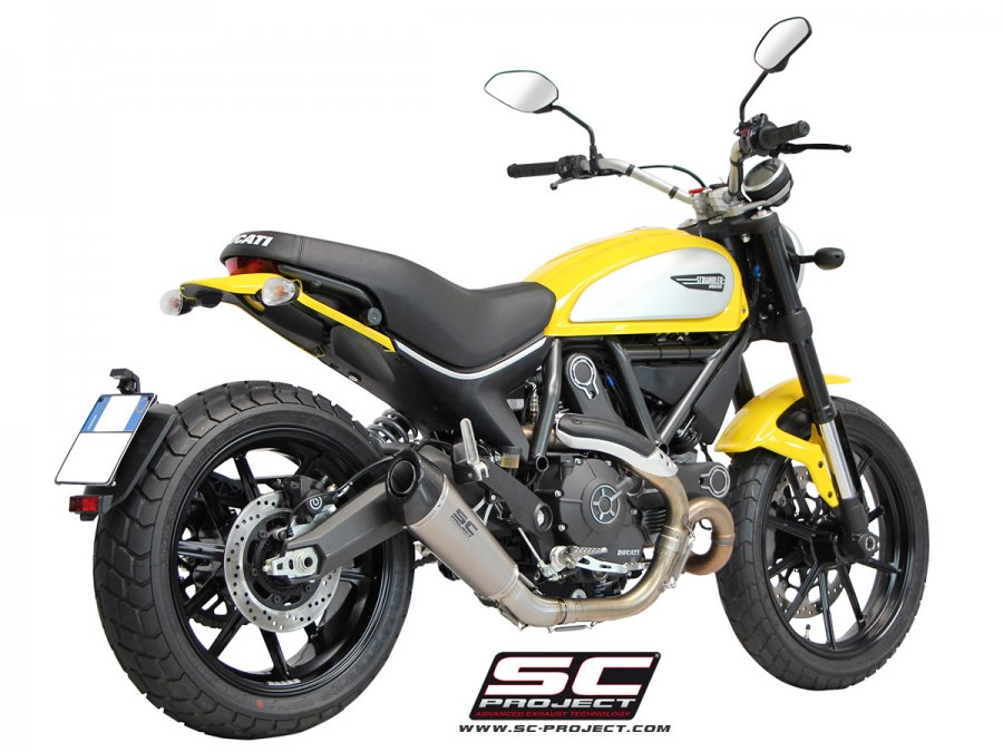 SC Project Conic Exhaust for Ducati Scrambler