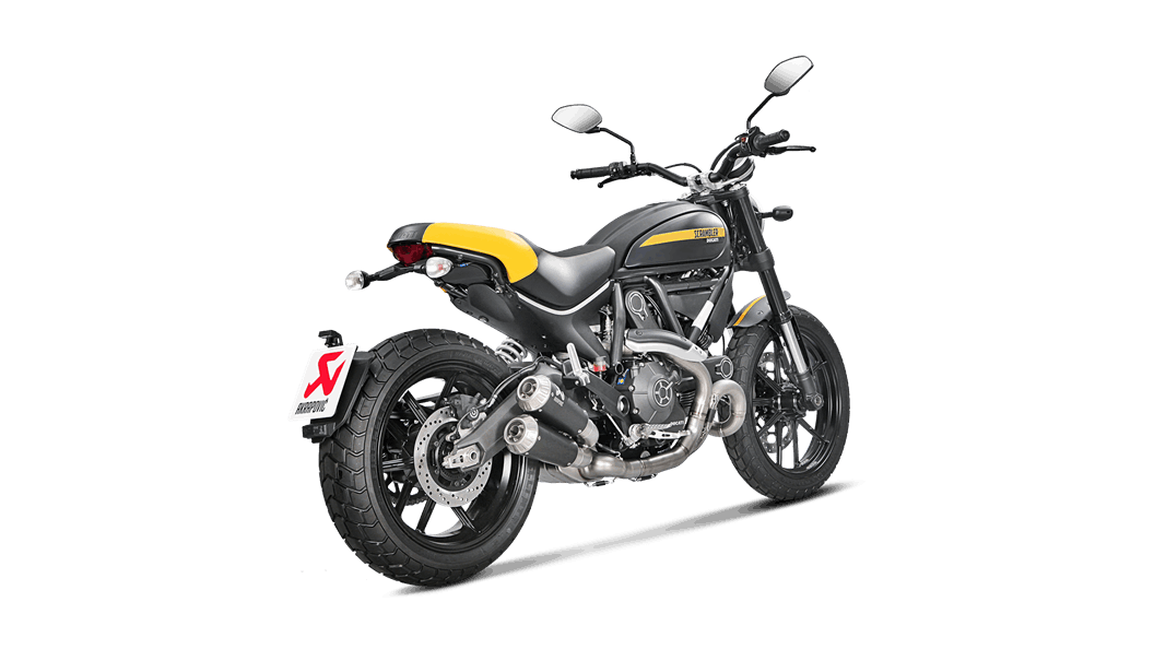 Akrapovic Titanium Race Headers for Ducati Scrambler