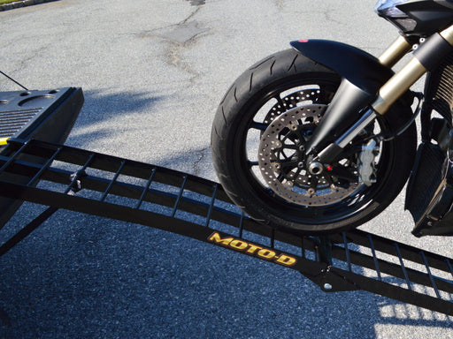 Moto-D Folding Motorcycle Ramp for Ducati Scrambler