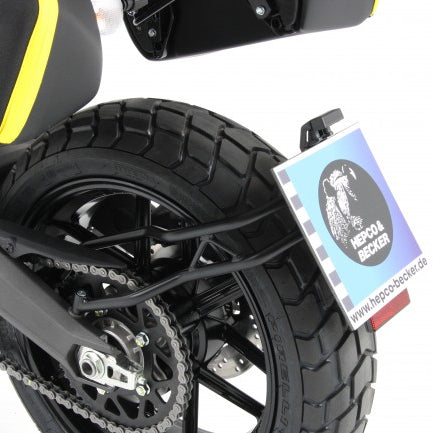 Hepco & Becker License Plate Holder for Ducati Scrambler