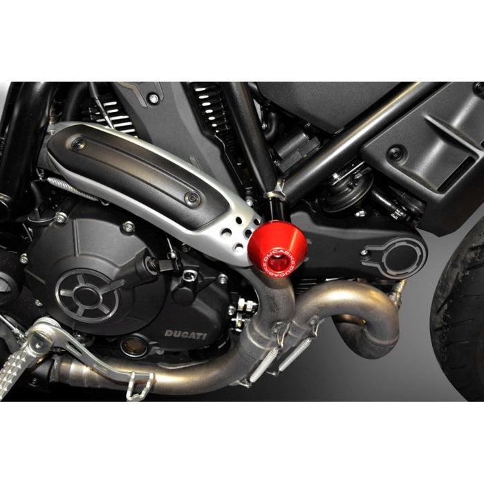 Ducabike Rounded Frame Sliders for Ducati Scrambler