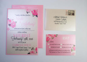 Pink 'Pulitzer' Roses Wedding Suite
