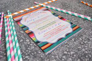 Let's Taco 'bout Fiesta Themed Baby Showers