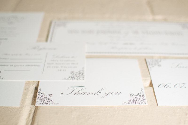 Ashley Thank You Cards