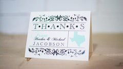 State Pride Thank You Cards - Lindsay Ann Artistry