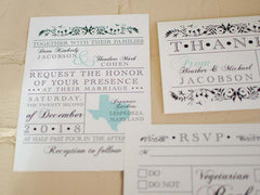 State Pride Wedding Invitations - Lindsay Ann Artistry