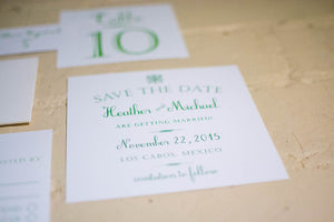 Daisy Save the Date Card