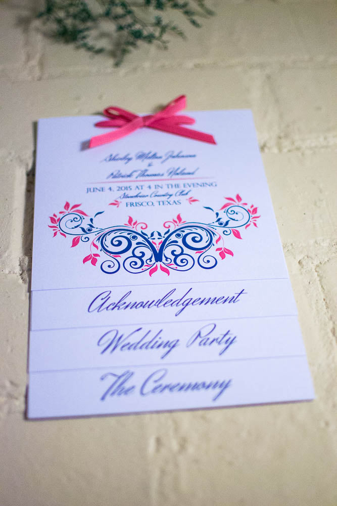 Emma Wedding 4 Page Booklet Programs - Lindsay Ann Artistry