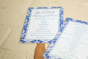 Stephanie Wedding Programs